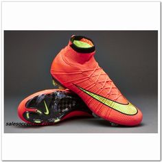 Nike Mercurial Superfly FG Red Hyper Punch Gold Black  103.99 Cheap Soccer  Shoes 452049820029d