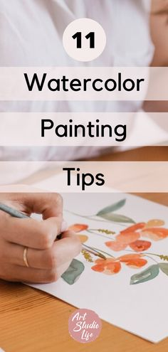 Learn 11 watercolor painting tips for beginners! how to paint with watercolor 101. how to watercolor. watercolor step by step. newbie artist. watercolor painting. watercolor painting tutorial. Learn how to watercolor. watercolor techniques. watercolor demonstration. watercolor ideas. learn how to watercolor paint. #watercolor #learnhowtowatercolor #watercolorstepbystep #watercolortips Watercolor Beginner, Watercolor Art Lessons, Watercolor Paintings For Beginners, Step By Step Watercolor, Watercolor Tips, Watercolour Tutorials, Watercolor Techniques, Watercolour Painting, Watercolors