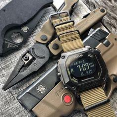 Huckberry, your destination for handpicked EDC Everyday Carry Prepper Survival Gear. Sport Watches, Cool Watches, Watches For Men, Fancy Watches, Field Watches, Gents Watches, Tactical Watch, Tactical Gear, Urban Edc