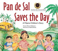 A heart-warming story of a young Filipino girl who builds self-confidence after spending a day with her classmates, Pan de Sal Saves the Day: A Filipino Children's Story is an award-winning inspiring tale for young children everywhere. It's the story of a young girl named Pan de Sal who lives in the Philippines and thinks she's the unluckiest girl in the whole world.