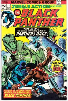 Marvel Comics Retro Style Guide: Black Panther Marvel Comics Poster - 30 x 46 cm Avengers Comics, Archie Comics, Dc Comics, Marvel Comic Books, Comic Books Art, Black Panther Marvel, Black Panther Comic Books, Black Comics, Marvel Girls
