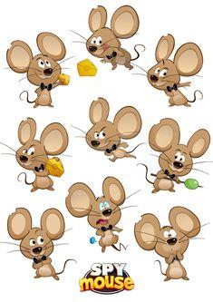 SPY Mouse - Character Art - Agent Squeak by Ashalind.deviantart.com on @deviantART
