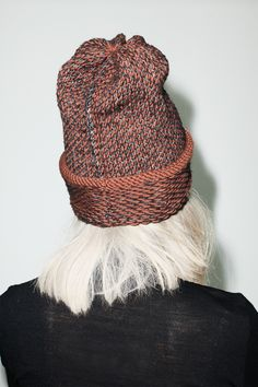 hand knit hat / no. 6