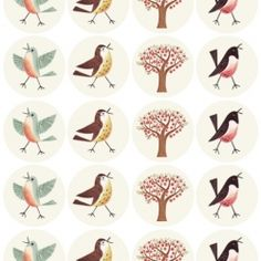Free printable bird labels (via World Label) and other lovely inspiring things.