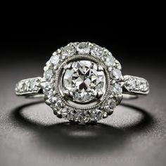 .55 Carat Center Platinum Diamond Ring