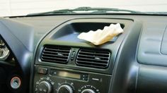 Coffee Filters are cheap, and you can buy huge packages of them at the dollar store. Even if you don't brew drip, you can use them for other things, like keeping the interior of your car clean and free of lint, splatters, and stains.