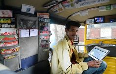 32 year-old Annadurai runs his share auto on the Thiruvanmiyur-Sholinganallur route in Chennai. His auto is, however, not the one you find on regular days. Annadurai's auto has top-notch facilities. Free WiFi, mobile charging point, http://www.mddir.com/hub/this-auto-driver-has-a-website-mobile-app-2-ted-talks-and-over-10k-facebook-fans/