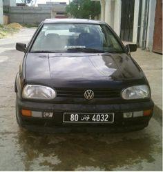 Annonce de vente de voiture occasion en tunisie VOLKSWAGEN GOLF Manouba