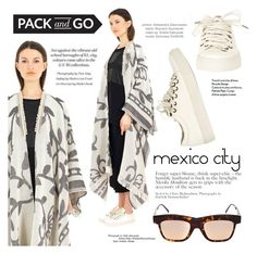 """""""Pack and Go: Mexico City"""" by thequeenstore ❤ liked on Polyvore featuring Kuboraum"""