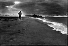 The solitary beach run - nothing better for your head. My passion for over 40 years.