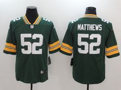 Clay Matthews Green Bay Packers Football Jersey Print Short Sleeve T-Shirt Green Bay Packers Jerseys, Packers Football, Clay Matthews, Nfl Oakland Raiders, Nfl Green Bay, Cowboys Football, Football Jerseys, Jersey Shirt, Alter