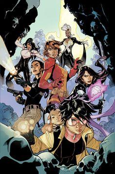 X-Men 10 (Karima, Storm, Monet, Rachel Grey, Psylocke and Jubilee) by TerryDodson