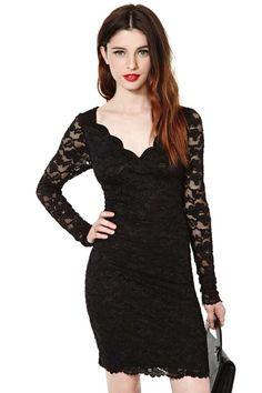 Jagged Little Frill Dress | Shop Dresses at Nasty Gal