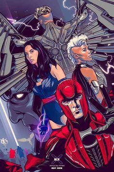 X-Men: Apocalypse by Vincent Rhafael Aseo