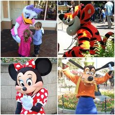 Here is four of our favorite #Disney friends! Who are you most excited to see?