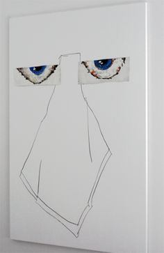 """From the Independent Art Fair: Richard Aldrich's """"Untitled"""" (2010/2006), from Bortolami"""