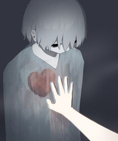 I hope one day you win this fight against me & get to my heart~either to break it or to take it. Arte Horror, Horror Art, Dark Art Illustrations, Illustration Art, Sad Anime, Anime Art, Sun Projects, Anime Triste, Arte Obscura