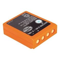 Battery, For Quadrix and Micron 5 by Hbc Radiomatic. $128.43. Radiomatic Remote AccessoriesNiMH Battery, Battery Type Rechargeable, Color Orange, Length 2.5, For Use With 20J629, 20J630, 20J631