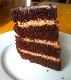 No Joke Dark Chocolate Cake  recipe is nominated for Paleo Magazine's Best Of 2013!