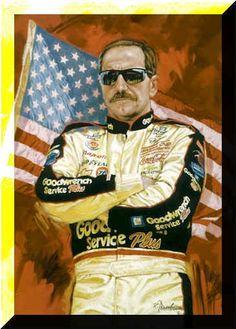 Dale Earnhardt.  #DaleEarnhardtArt http://www.pinterest.com/jr88rules/dale-earnhardt-art/