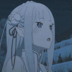 anime   re zero   emilia re zero   icons   anime icons   re zero icons   re zero season 2 part 2 icons   emilia re zero icons Re Zero, Season 2, Disney Characters, Fictional Characters, Aurora Sleeping Beauty, Profile, Icons, Manga, Disney Princess