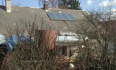 Solární ohřev vody   Svratouch okr. Chrudim
