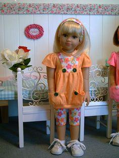 "Fashion for 18"" Slim Dolls Kidz 'n' Cats, Magic Attic, Outfit (2) by Brigitte"