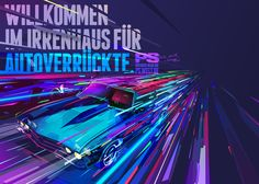 """The new illustration series for the german automobile blog """"PS""""."""