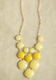 morning light necklace in yellow  SHOPRUCHE.COM | Senior Style Inspiration