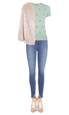 """Untitled #259"" by mdsim821 on Polyvore featuring Paige Denim, Oasis, Semilla and Sans Souci"