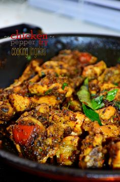 #Pepper #Chicken Fry #Recipe - #Indian Non-veg recipes