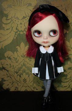 J loves B Custom Blythe Doll Calamity