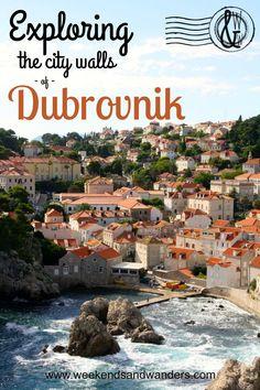 Exploring the City Walls of Dubrovnik, Croatia