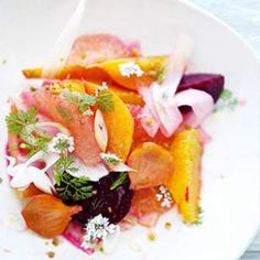 Fennel, Citrus & Roasted Beet Salad - our neighbor served this at a 5 ...