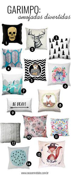 Casa Sem Rótulos, garimpo, almofadas, pillow, almofadas divertidas, almofadas lindas, almofadas legais, almofadas diferentes