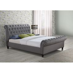 Found it at Wayfair.co.uk - Mannum Upholstered Sleigh Bed
