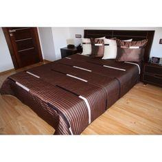 Luxusní přehozy na postel v hnědé barvě - dumdekorace.cz Hotel Bed, Bed Sets, Bedding Sets, Luxury, Furniture, Design, Home Decor, Beautiful, Decoration Home
