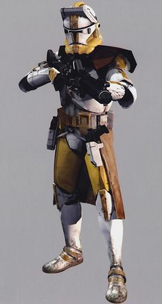 Star wars | Clone trooper phase 2 | Commander Bly (CC-5052) was assigned to the 327th Star Corps, working closely with Jedi General Aayla Secura on missions from Lurmen to Alzoc III. During the Outer Rim Sieges he was with Secura on Saleucami, and shot her in the back after Order 66 was issued
