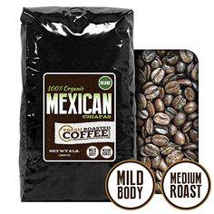 2 Lb. Bag, Organic Mexican Chiapas Coffee, Whole Bean, Fresh Roasted Coffee LLC - http://goodvibeorganics.com/2-lb-bag-organic-mexican-chiapas-coffee-whole-bean-fresh-roasted-coffee-llc/
