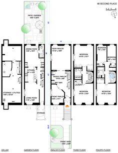 29 delightful townhouse floor plans images floor plans house rh pinterest com
