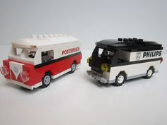 LEGO VW t1 with printed bricks from the 60's