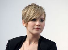 jennifer lawrence short haircut photos | Jennifer Lawrence Reveals Crush On Justin Timberlake