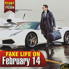 Story time _ Fake life On February 14 Episode 1 (Tycoon)   .......Shout out to all you guys and ladies out there that you call yourselves what you cannot become in the next 100 years to come and even till you die....How funny does that sounds in your hearwhen you call yourself the luxury things that you are not when you can't get it at all.... But Before you act big when you are notlet you and I both read the story of this guy called Jones  ......The day was bored like never when Jonesa guy…