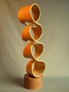 John McAbery Sculptures  Hand Carved from a solid block of bay laurel