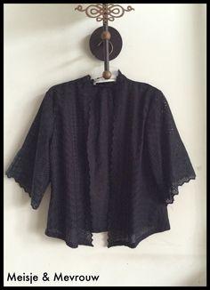 Kebaya cardigan  Cotton embroidery