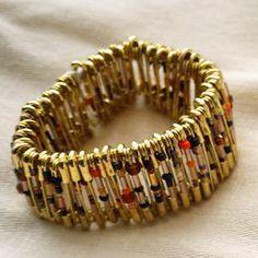 Get Crafty! Chic Safety Pin Bracelet