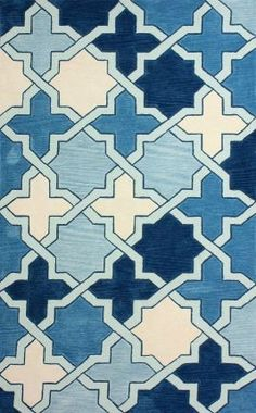 Serendipity 3466 Blue Rug - I like this one too! Only $76