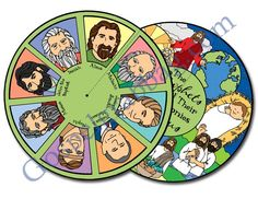 Follow the Prophet: LDS Lesson Activity: Prophets testify of Jesus Christ. Activity: Prophets Reveal - Testimony Wheel, gospelgrabbag.com