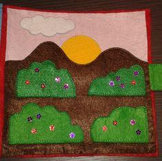 paisaje Kids Rugs, Book, Home Decor, Hand Sewing, Felt, Blue Prints, Homemade Home Decor, Kid Friendly Rugs, Books