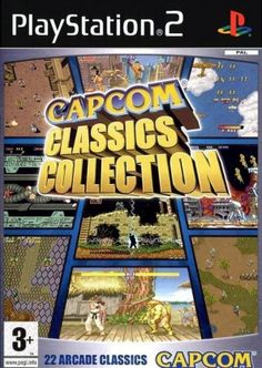 Capcom Classics Collection (Sony PlayStation for sale online Playstation 2, Ps4, Gta Gta, Juegos Ps2, Arcade, Namco Museum, Video Game Collection, Sega Dreamcast, Retro Videos